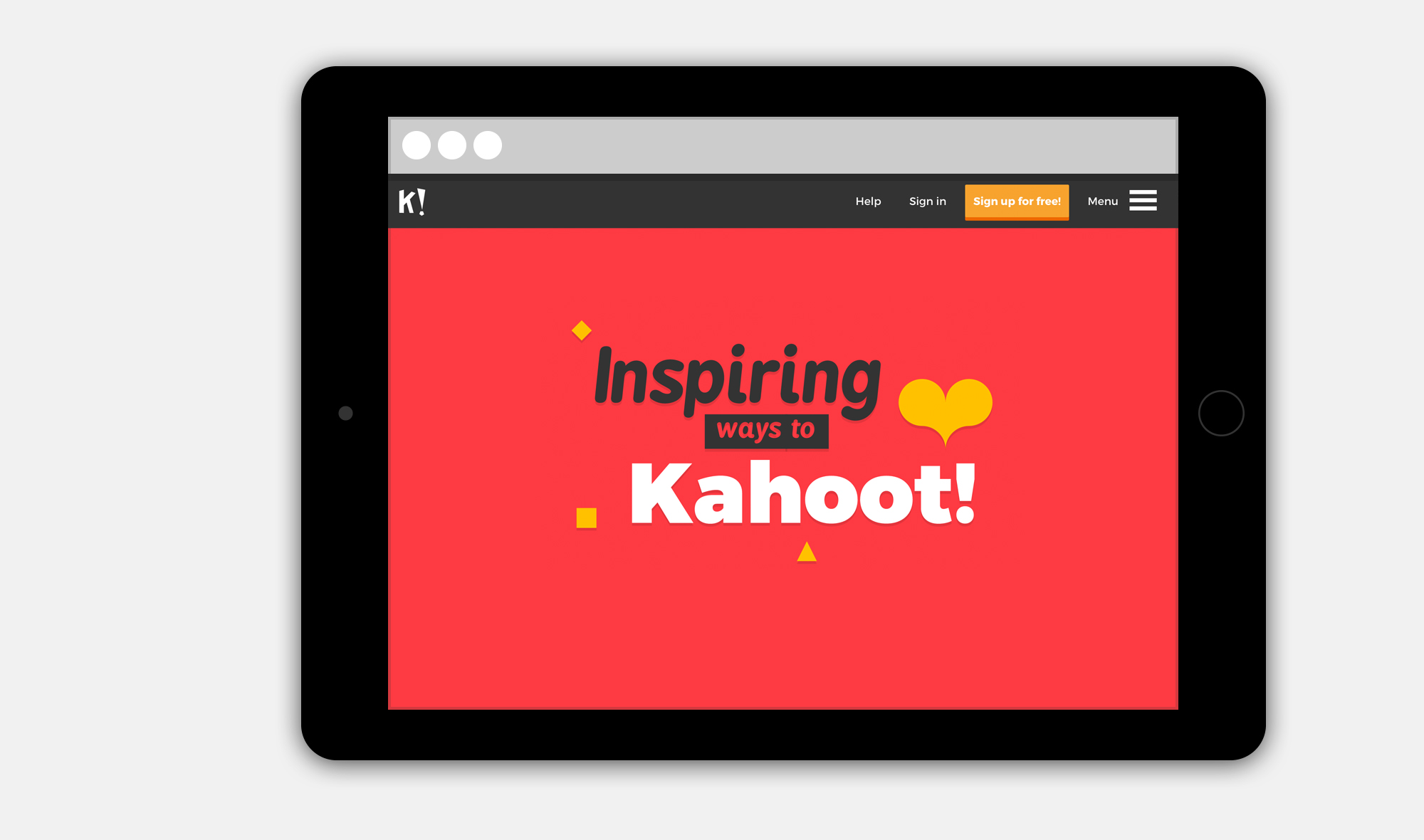 The Guidelines Helped To Govern And Maintain A Unique Consistent Look Feel For Kahoot Experience Across All Platforms